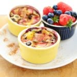 Quinoa Mini Omelettes with Summer Berries