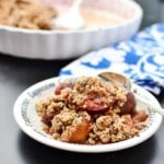 Vegan Plum Crisp Recipe