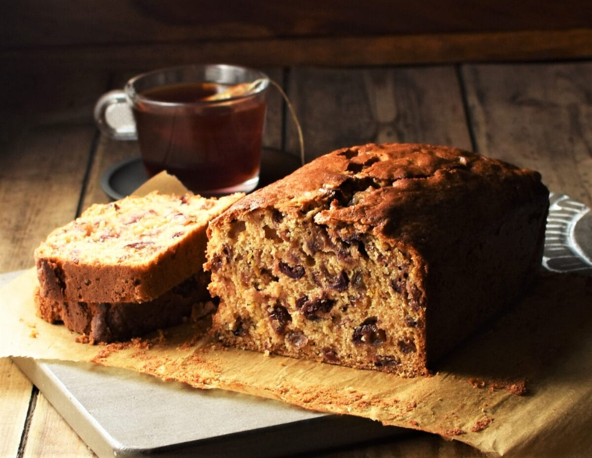 Rooibos Tea Loaf Cake Everyday Healthy Recipes