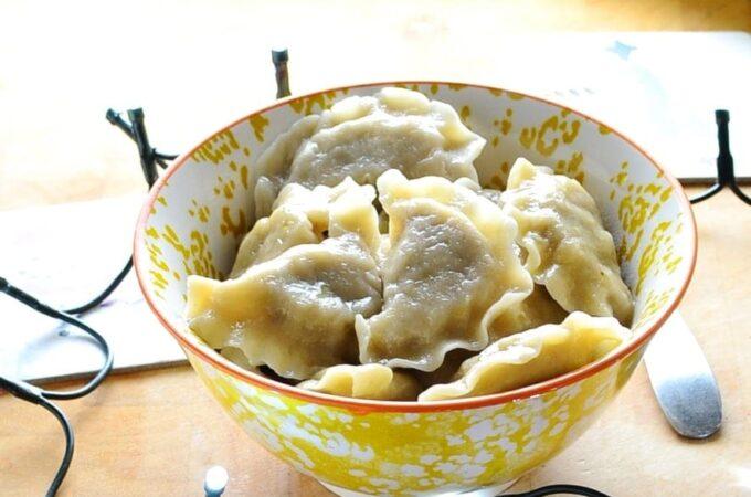 Polish Sauerkraut Dumplings (Pierogi z Kapusta)