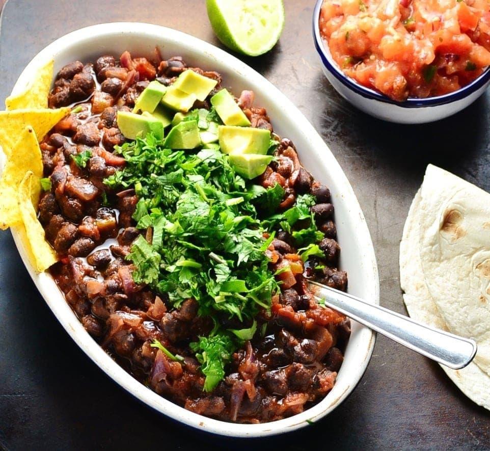 Mexican Black Bean Stew Vegan Everyday Healthy Recipes