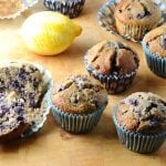 Gluten Free Blueberry Muffin Recipe with Maple Syrup