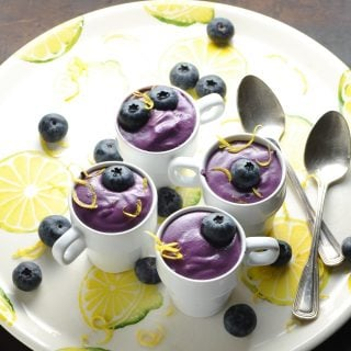 5-Ingredient Blueberry Cream Cheese Dessert