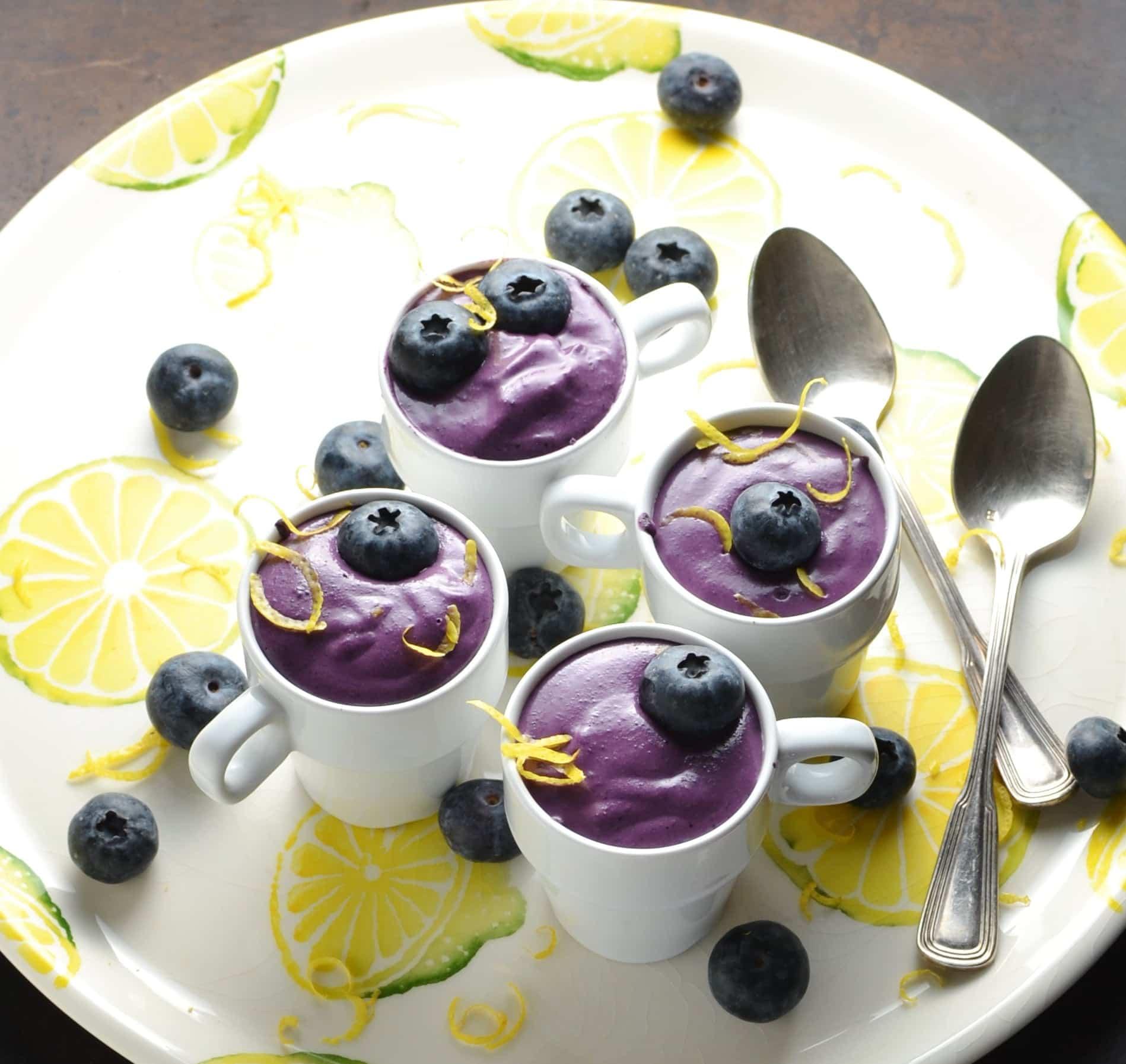5-Ingredient Blueberry Cream Cheese Dessert