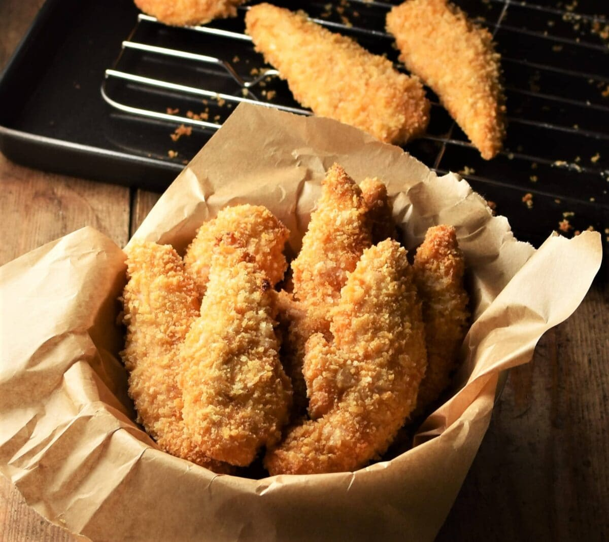 Oven Baked Super Crispy Chicken Fingers Everyday Healthy Recipes