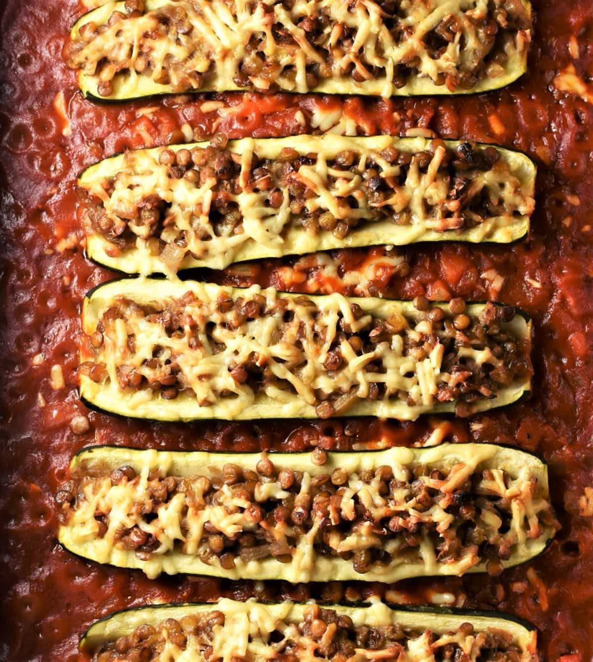 Vegetarian Stuffed Zucchini Casserole Everyday Healthy Recipes