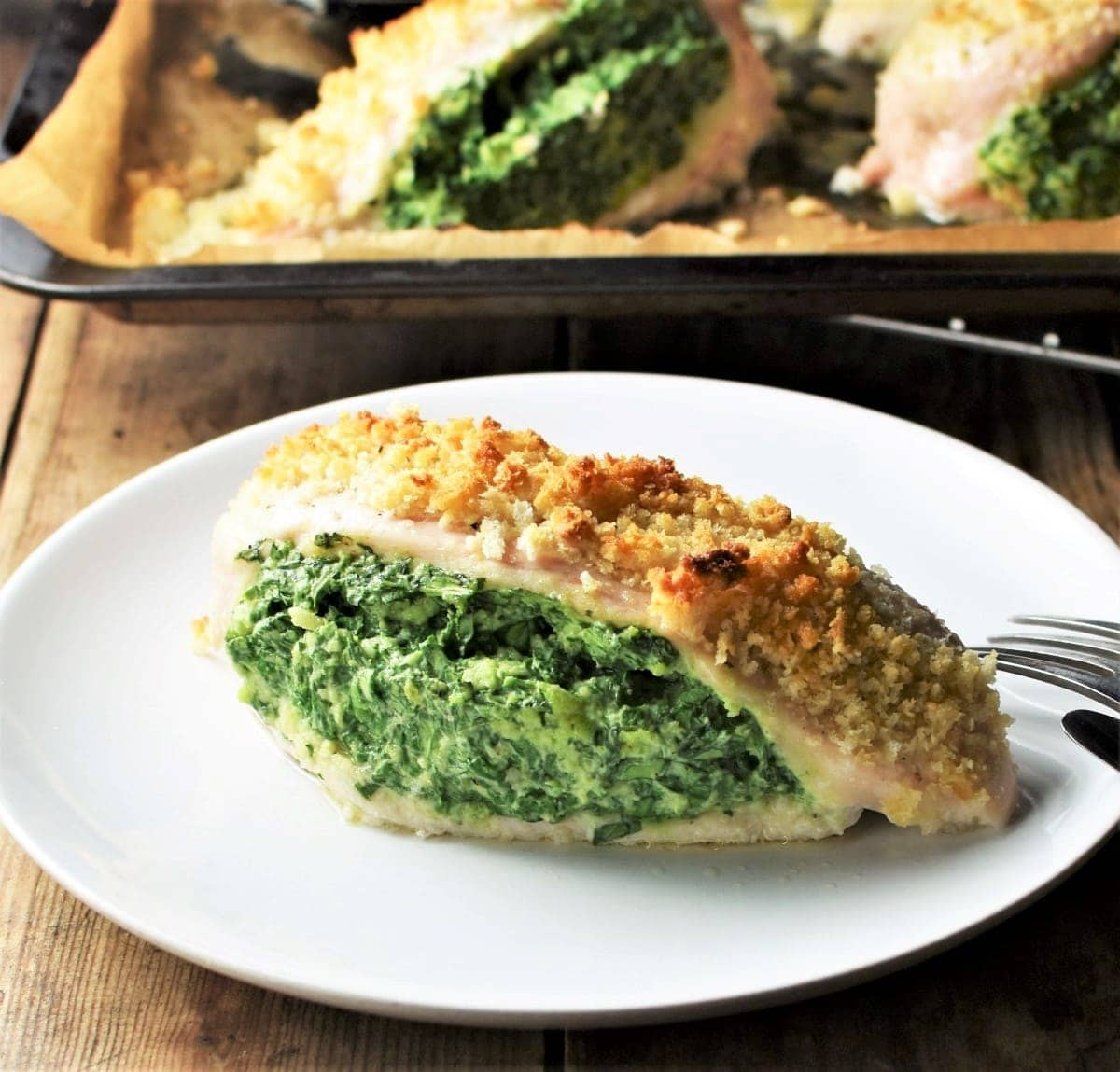 Spinach And Ricotta Cheese Stuffed Chicken Everyday Healthy Recipes
